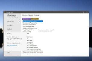 Cleanmgr+ Kleines Tool um Windows 10 zu bereinigen inkl. Browsercache