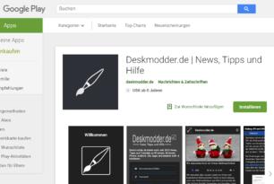 Android Deskmodder App: Welche Funktionen wünscht ihr euch?