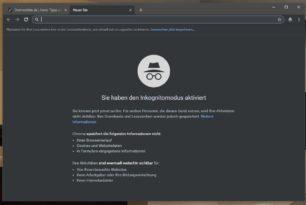 Google Chrome mit Dark Mode (Dunkler Modus) für Windows 10 geplant