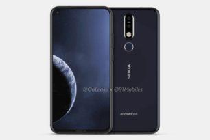 Nokia 8.1 Plus: Erste Render-Bilder & Render-Video aufgetaucht