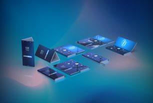 Intel Patent: Doppelt faltbares Smartphone, welches zum Tablet wird