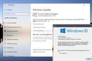 KB4476976 v2 Windows 10 1809 17763.292 (Manueller Download) im RP-Ring