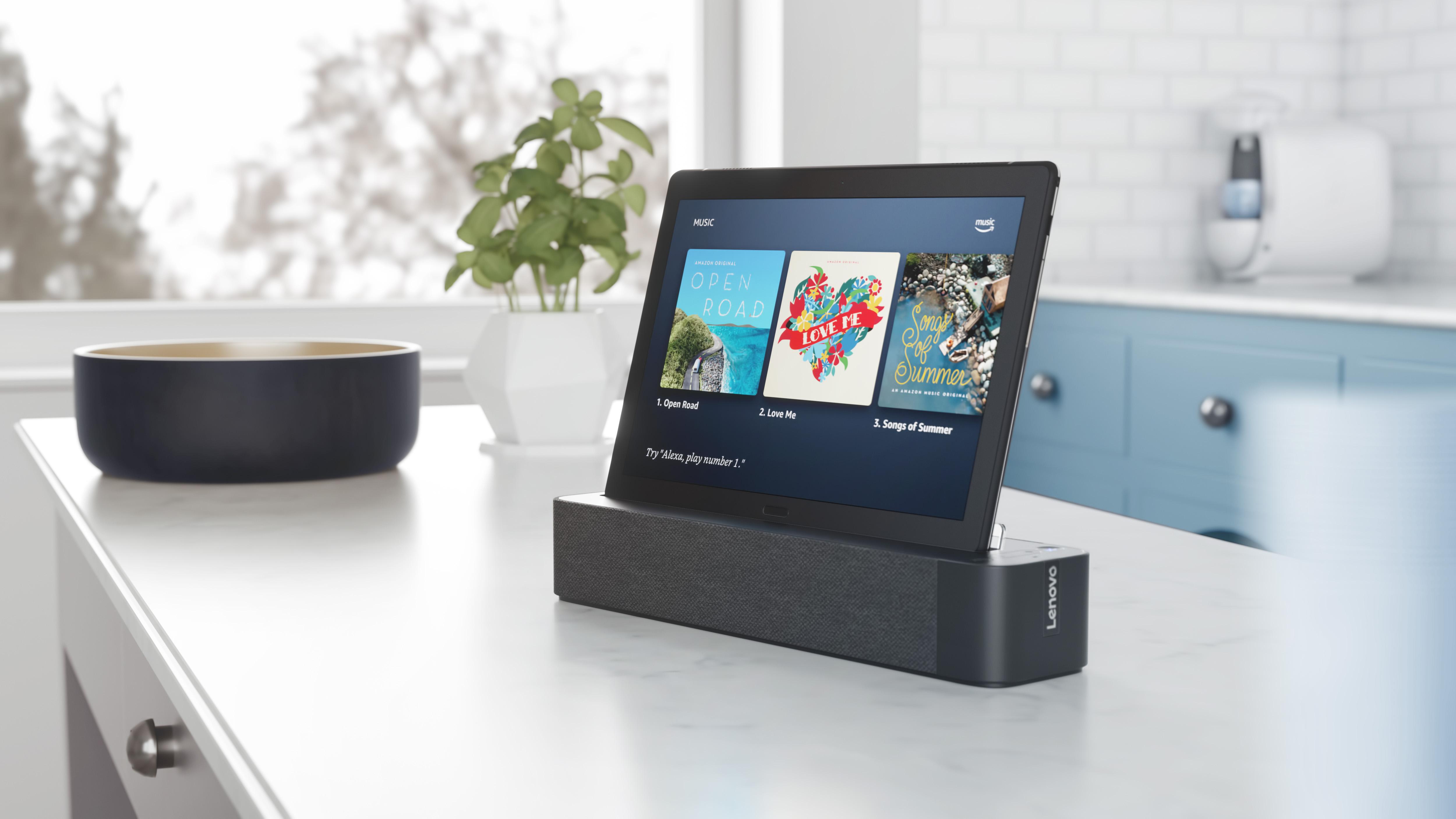 ces 2019 lenovo smart tabs p10 m10 neue tablets mit dockingstation show modus vorgestellt. Black Bedroom Furniture Sets. Home Design Ideas