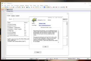 Notepad++ 7.6.2 mit Plugins Admin Modul in der portablen Version