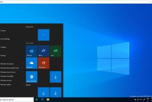 Windows 10 182323 Sandbox mit den originalen Office Icons