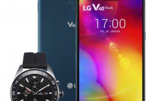 LG V40 ThinQ & LG Watch W7 ab Ende Januar verfügbar