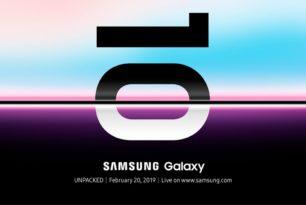 "Samsung Galaxy S10 ""Unpacked"" ist am 20.Februar ganz offiziell"