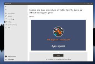 Windows 10 1903 und 1809 – Bug Bash Januar ist gestartet
