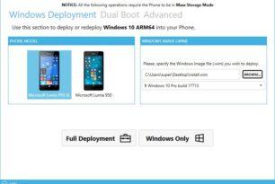 WoA Installer for Lumia 950/XL Windows 10 ARM als Dualboot einrichten