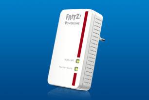 FRITZ!Powerline 540E bekommt FRITZ!OS 7.13