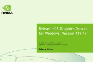 GeForce 419.17 WHQL schließt Sicherheitslücken