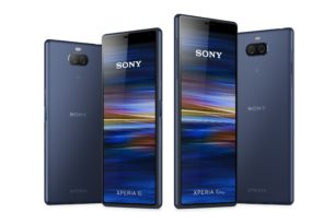 Sony Xperia X1 (Xperia XZ4), Xperia 10 & 10 Plus: Neue Bilder der Geräte