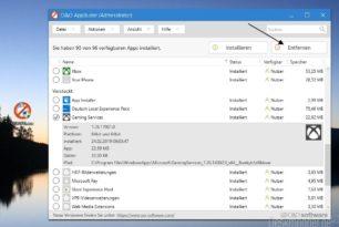 O&O AppBuster entfernt auch versteckte Apps unter Windows 10