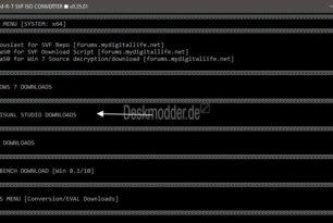 Windows 10 17763.316 1809 Februar Refresh ISO mit dem SVF ISO Converter erstellen