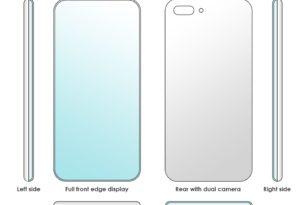 Xiaomi Patent zeigt Vollbilddisplay mit Edge an allen vier Seiten