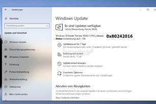 Windows 10 Slow Ring Insider haben Probleme auf die 18362.1 upzudaten 0x80242016