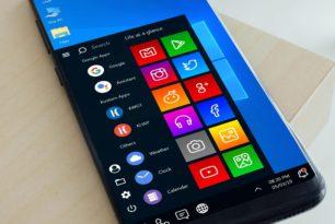 "Android mit ""Windows 10 Startmenü"" als Windows X Edition Theme"