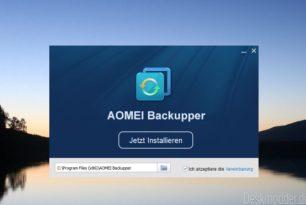 Giveaway: AOMEI Backupper Pro 4.6.2 kostenlos zu haben
