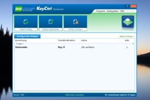 ASCOMP KeyCtrl – Hotkey Manager im kurzen Test + Gewinnspiel