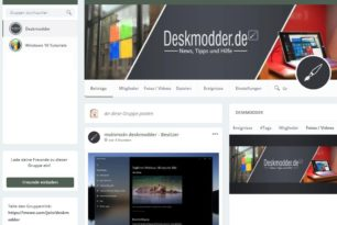 Deskmodder.de nun auch über MeWe erreichbar