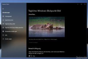 Dynamic Theme 1.4.30219.0 kommt mit vielen Verbesserungen für Windows 10 und Mobile