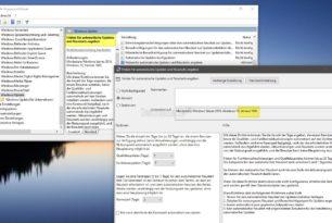 Updates und Funktionsupdates zurückstellen nun auch in den Gruppenrichtlinien Windows 10 1903