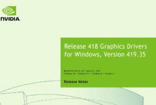 Geforce 419.35  WHQL steht zum Download bereit