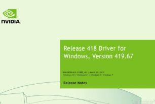 Geforce Game Ready 419.67 WHQL Treiber steht zum Download bereit