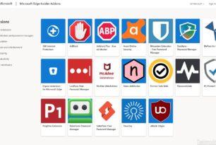 Microsoft Edge Insider Erweiterungen (Chromium) sind online