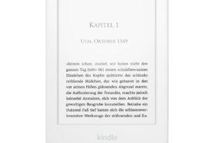 Amazon Kindle: Neues Modell bietet anpassbares Frontlicht & leicht überarbeitetes Design