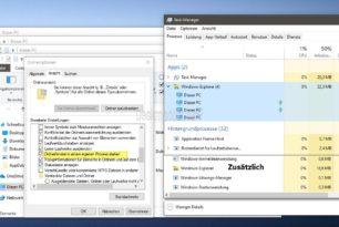 Windows 10 1903 Datei Explorer öffnet nun Ordnerfenster immer im eigenen Prozess