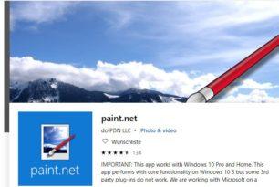 Paint.NET 4.1.6 mit vielen Verbesserungen steht bereit