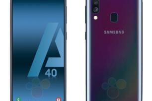 Samsung Galaxy A40: So sieht es aus & das ist die Ausstattung