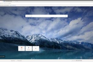 Microsoft Edge (Chromium) Neue Bilder vom Browser