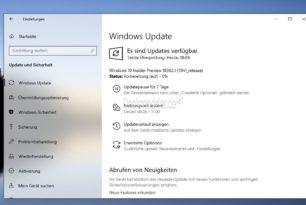 Windows 10 18362 steht für die Insider im Slow und Fast Ring bereit