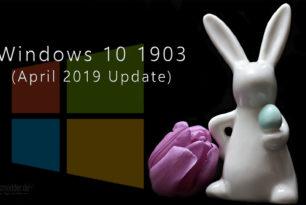 Windows 10 1903 – 18362 ISO / ESD (deutsch, english)