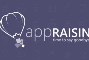 AppRaisin macht zum 9.Mai dicht