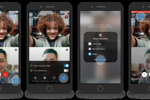 Skype App für iOS & Android können nun den Bildschirminhalt teilen (aktuell nur für Insider)