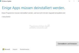 """Windows 10 1903 Fix für """"Dieser PC kann nicht auf Windows 10 aktualisiert werden"""""""