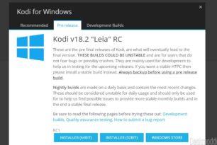 "Kodi 18.2 ""Leia"" Final steht zum Download bereit [Update]"