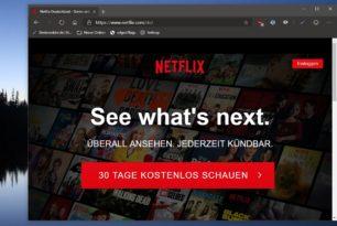 Microsoft Edge (Chromium) kann den User Agent wechseln