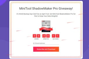 Giveaway: MiniTool ShadowMaker Pro heute kostenlos bekommen