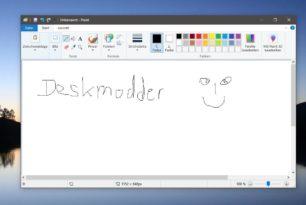 MS Paint bleibt uns vorerst erhalten in der Windows 10 1903 und höher