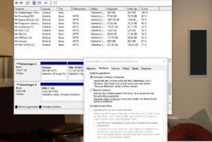 USB-Sticks und externe Festplatten schnell entfernen ist nun Standard ab Windows 10 1809