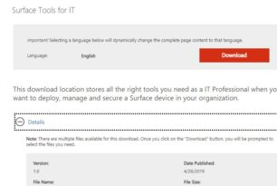 Surface Tools for IT steht zum Download bereit