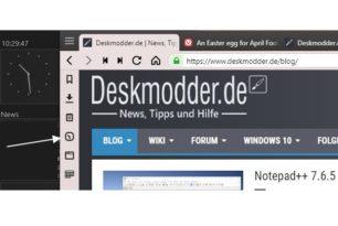 "Vivaldi Browser mit einem ""Easter egg"""
