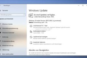 Windows 10 18875 steht für die Insider im Fast Ring und Skip Ahead bereit
