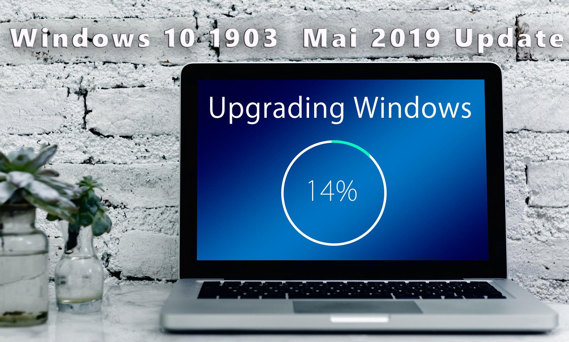 Windows 10 1903 Update bricht mit Hardwarefehler Meldung ab