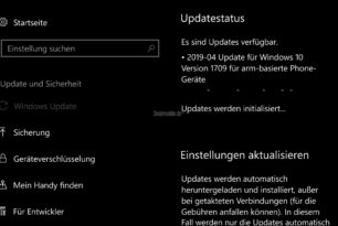 Windows 10 Mobile mit Update auf die 15254.562 (KB4495357)