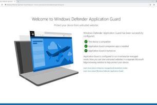 Windows Defender Application Guard nun auch für Google Chrome und Firefox als Erweiterung